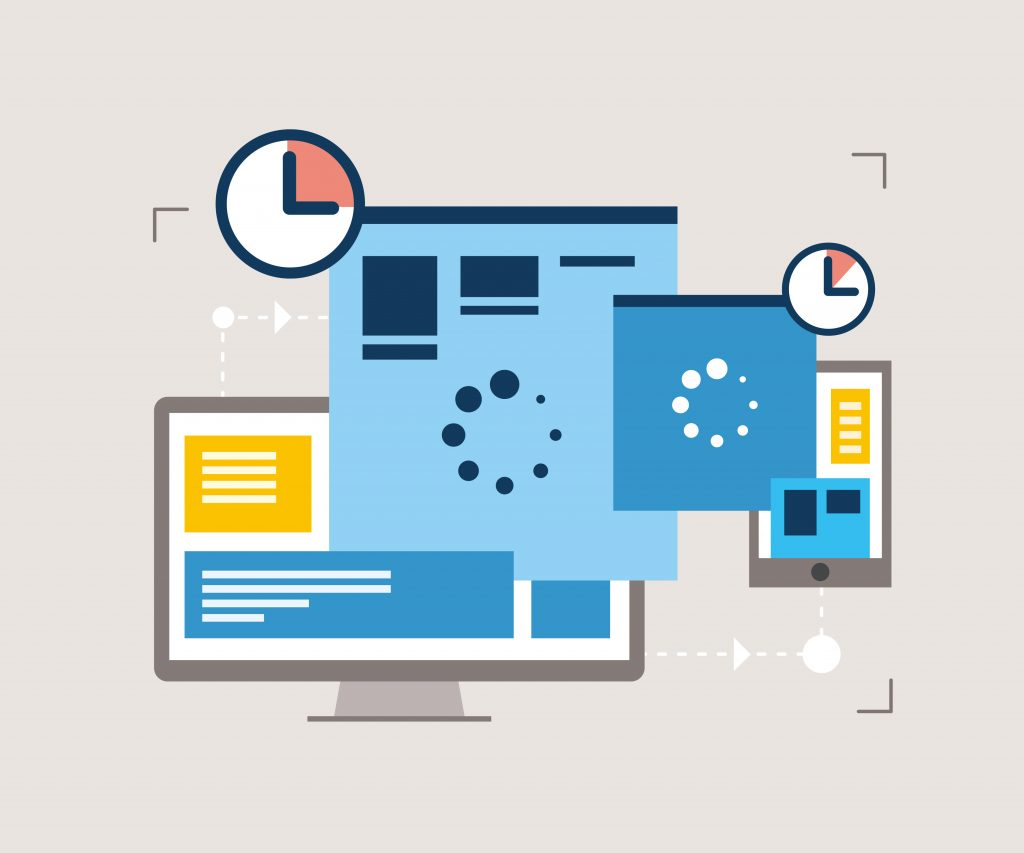 showing the speed of your web page