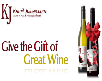 Guelph Winemaking Christmas Gifts