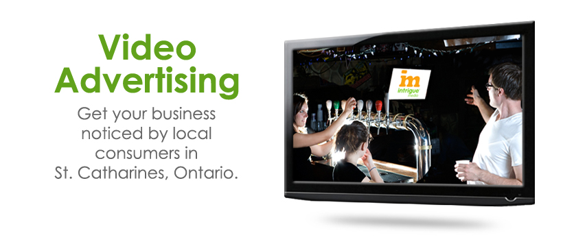 St. Catharines Ontario Video Advertising