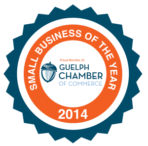 Guelph Small Business of the Year 2014 Awarded Intrigue Media