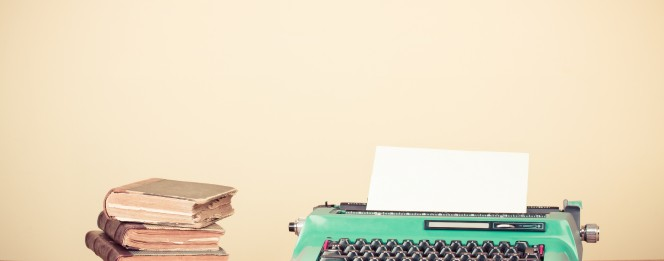 Overcome writers block by writing about what you love