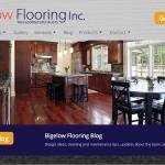 Guelph Flooring Company Website Design