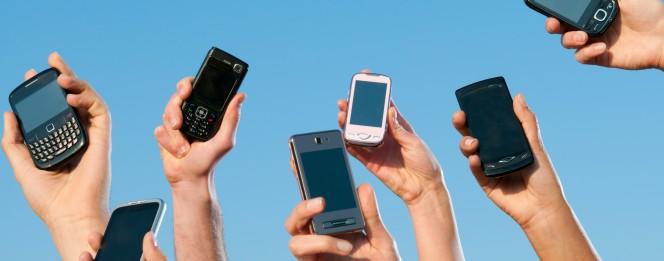 people holding smartphones