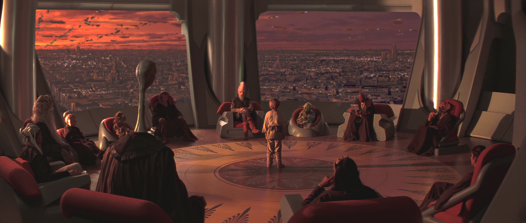 Jedi Council Anakin Authority Respect Leaders