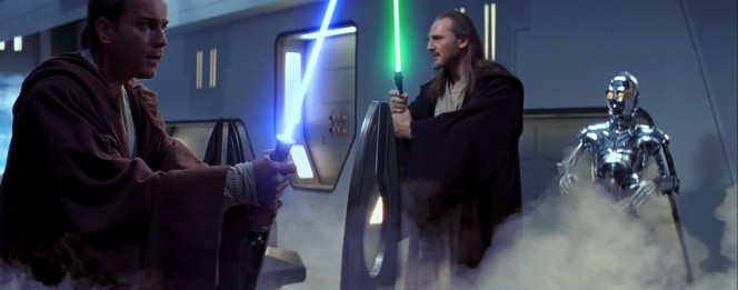Mentor Jedi Leader Obi Wan Qui Gon
