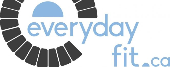 Everyday Fit logo is a result of the branding process at Intrigue Media in Ontario
