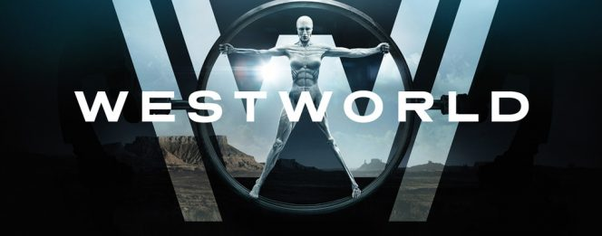 Westworld title screen shows robot body
