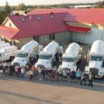 Digital Marketing HVAC Companies in Ontario- image of trucks and team members at Bryan's Fuel